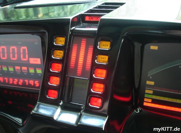 Fotogalerie: Interieur - myKITT de - My Knight Rider K I T T -replica